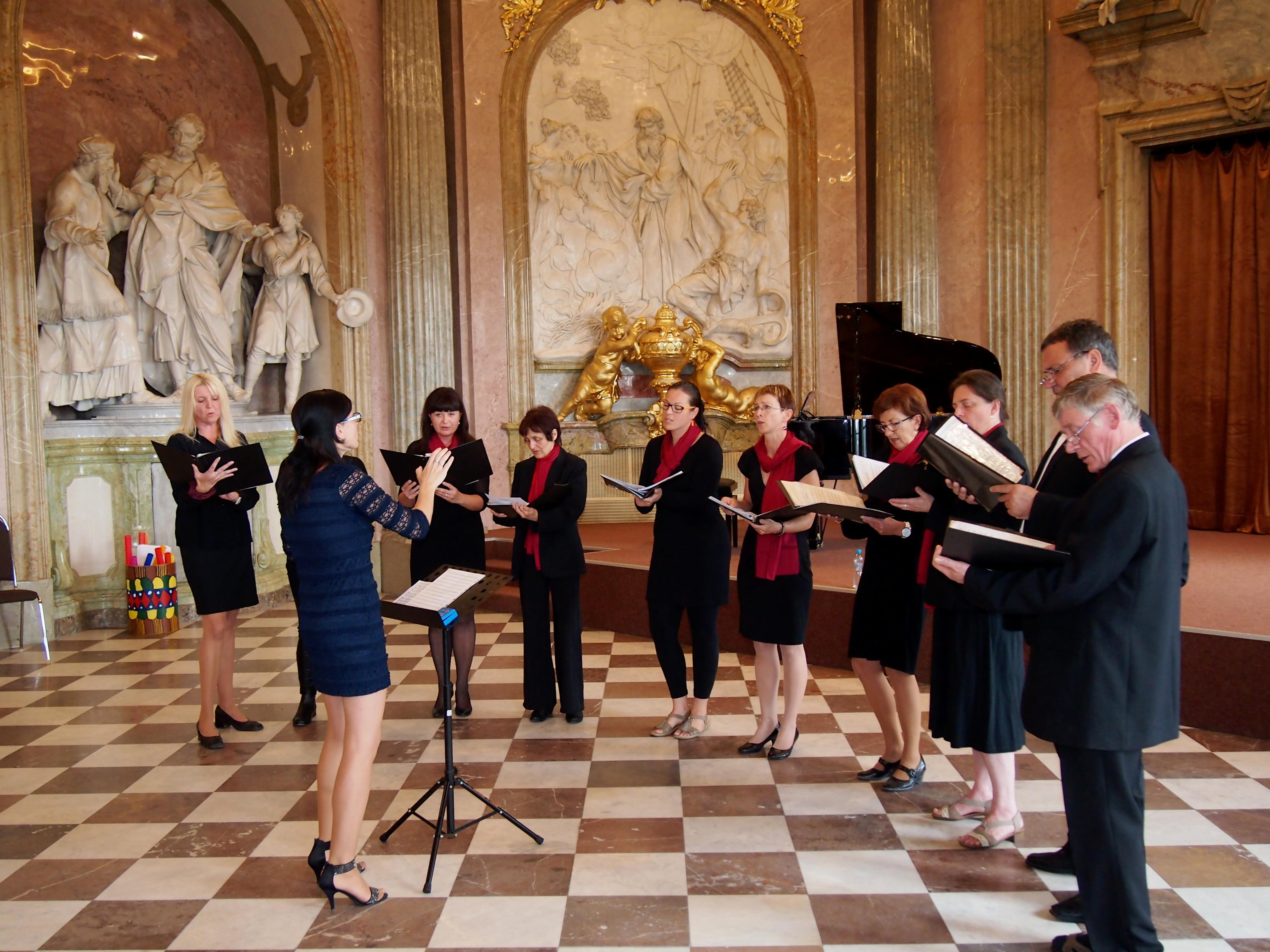 Sbor Cantabile v Olomouci na Klášterním Hradisku
