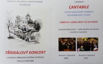 Tříkrálový koncert